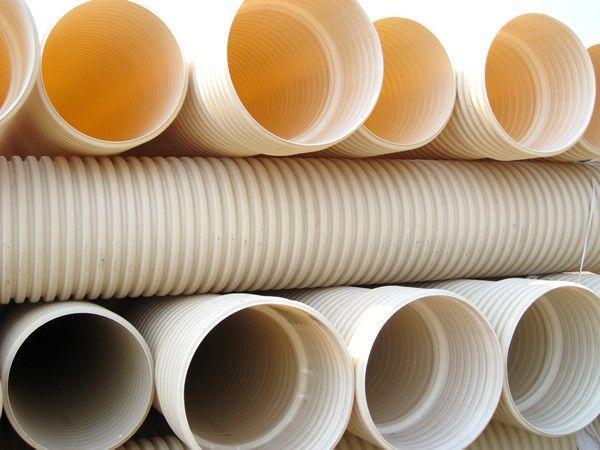 PVC-U双壁波纹管排水管